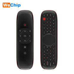 W2 음성 원격 제어 소형 무선 키보드 공기 마우스