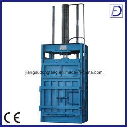 Enfardadeira Vertical pano de papelão do compactador de garrafas plásticas prensa de enfardamento