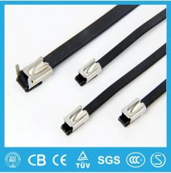 Непосредственно на заводе с пластиковой крышкой из нержавеющей стали Sable связей/Нейлон кабельную стяжку/кабельный зажим бесплатные образцы