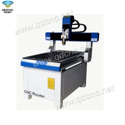 Kupferner bekanntmachender CNC-Fräser, der Maschine mit Selbsthilfsmittel-Fühler Qd-6090 schnitzt