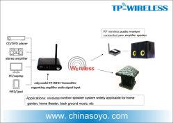 スピーカーのための無線RFの可聴周波送信機の受信機の解決