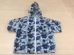 Crianças Packable Fashion Kids Raincoat Vestuário Camisa de Desgaste