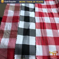 98 pulgadas de ancho de Poliéster algodón teñido de sentir la mano la ropa de cama tejido de hoja