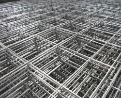 2*2 Hormigón galvanizados Panel de malla de alambre soldado Grid