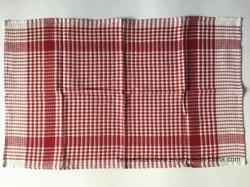 Le produit d'usine de la Chine a personnalisé l'essuie-main de thé contrôlé par modèle de coton de jacquard
