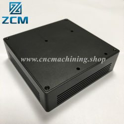 حاوية محرك أقراص ثابتة كهربائية من الألومنيوم CNC من CNC من الألومنيوم