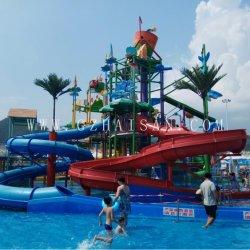 対話型の主題はAqua Parkのスライドの工場によって設計されている水家の水公園のスライドをカスタマイズした