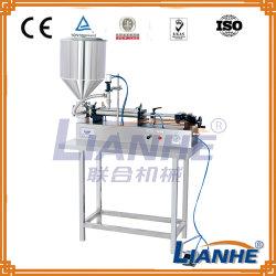 Bouchon de remplissage pneumatique semi-automatique Machine de remplissage pour la crème/Lotion/liquide