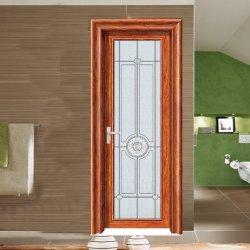 Späteste Entwurfs-hölzerne Farben-kundenspezifische Aluminiumglastür-Flügelfenster-Türen