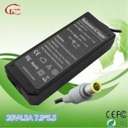 A IBM/Lenovo 20V 4.5A 90W laptop/notebook Adaptador AC Carregador de Bateria marcação UL RoHS CCC aprovados
