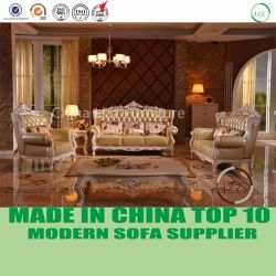 Sofa en cuir italien de luxe classique de Chesterfield