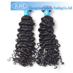5a différents types de Tissage de cheveux bouclés birmans brutes