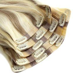 Luxy/Bellami Qualitätshaar Doppeltes gezeichneter Remy Menschenhaar-nahtloser Klipp 100% in der Haar-Extension