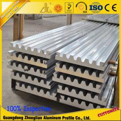 Aluminium extrudé à fente en T de profils pour ligne d'assemblage industriel