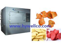 Gemüse Chips Puffing Maschine- Mikrowelle Vakuum Puffing Maschine