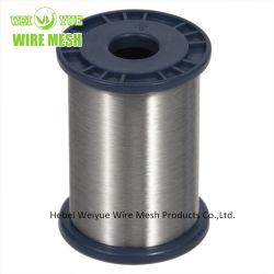 Ultra mince en acier inoxydable brillant Craft Wire utilisé pour les gants résistants aux coupures