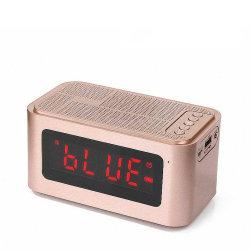 Mini светодиодный дисплей часы Bluetooth портативный беспроводной динамик S61 для iPhone