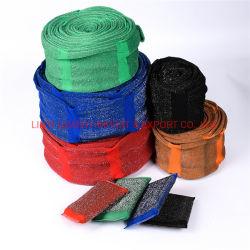 Edelstahl-Schwamm-Reinigungsapparat-Wäscher-materielles Putztuch in Rolls