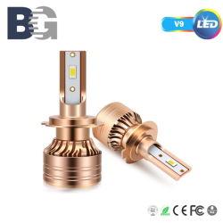 Светодиоды высокой мощности фар 75W 12000LM Auto светодиодного освещения небольшой размер LED лампы фары