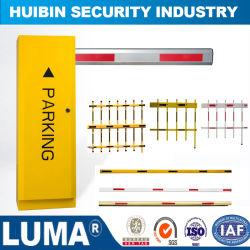L'aumento automatico chiaro del LED e giù recinta la barriera dell'asta di traffico di motore