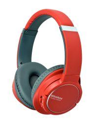 Neonfarben-fester leistungsfähiger Baß über Ohr-Sport-Radioapparat-Kopfhörer