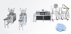 고품질 3 Plys 초음파를 가진 기계를 만드는 처분할 수 있는 자동 장전식 외과 의학 짠것이 아닌 가면 절단 Earloop 점용접