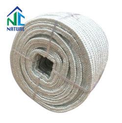 1.260 c cuerda de fibras de cerámica con SS, con el cable de fibra de vidrio o acero inoxidable para reforzar, cuadrado/Ronda de tejido trenzado de cuerda, Tela cuerda para sellado de calor