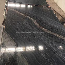 رخيص مصقول الصين الأسود الخشب الرخام الخشب الأسود الرخيص، الخشب الأسود الرخام