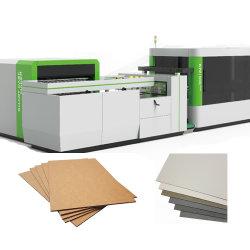 K19 Industrial automática Máquina de cortar el cartón gris Junta Slitter