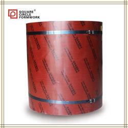 Las formas concretas Film enfrenta la construcción de madera contrachapada Circular encofrado encofrado de la columna de concreto