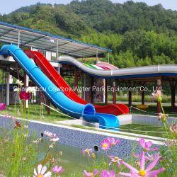 Cow-boy Baril et le traîneau de diapositives en fibre de verre très amusant parc à thème les diapositives de l'eau