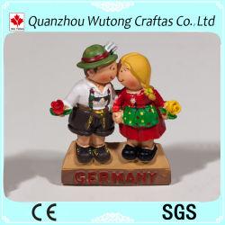 La resina Alemania recuerdos artículos para turistas Mini figuras de resina regalos para niños