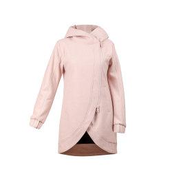 여자의 긴 외투 Parka 유행 트렌치 재킷