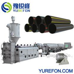 نظام طرد أنابيب إمداد الغاز البلاستيكية HDPE مقاس 16-630 مم