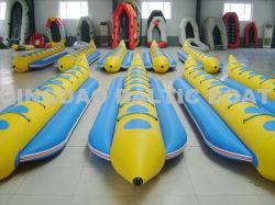 8 Лицо ПВХ надувные лодки бананов воды играют катера для отдыха