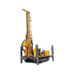Piattaforma di produzione del pozzo del foro del calcestruzzo della macchina 500m del mucchio del foro con il compressore d'aria