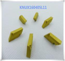 Cutoutil Knux160405L11 für Stahlalternative des Mitsubishi-Karbid-Einlage CNC-maschinell bearbeitenteils