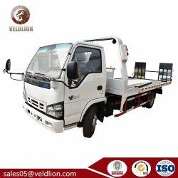 Tecnologia Isuzu 4X2 del Giappone 3 camion di Wrecker piano della strada dell'azionamento due di tonnellata un