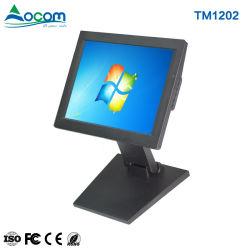 شاشة TM1202 LED مقاس 12 بوصة تعمل باللمس مزودة بشاشة POS