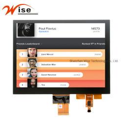 8.0 '' passten 1024 (RGB) X768 TFT LCD Bildschirmanzeige, 8bit Lvds Bildschirmanzeige-Panel 8.0 Bildschirm Zoll IPS-TFT LCD Module/LCD mit kapazitivem Fingerspitzentablett an