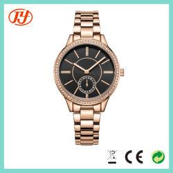 La moda de cuero de colores de aleación Wholesales Pulsera Reloj de pulsera para dama