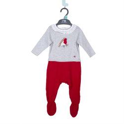 Bébé Pull tricot câble diamant de l'équipage de vêtements en gros pull