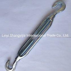 Hochwertige geschmiedete Stahl JIS Rahmen Typ Turnbuckle mit Haken Haken