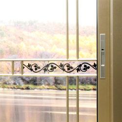 室内装飾材料2のドア葉のアルミニウム金属のガラス引き戸