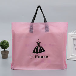 ループハンドル袋が付いている2020ポリ袋、プラスチックショッピング・バッグ、印刷されたポリ袋、良質のPolybags