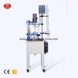 Chemischer mischender Glas-Reaktor des Reaktions-Behälter-10L