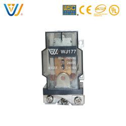 China Venta caliente 12V 24V Wj177 Relé de alta potencia Breaker