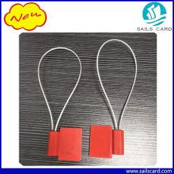 Taille/forme personnalisée tag RFID/étiquette adhésive avec LF/HF/fréquence UHF et matériau différent