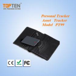 Topten Sos 단추, 자유로운 전화 APP (PT99-EZ)를 가진 긴 대기 건전지 GPS 추적자