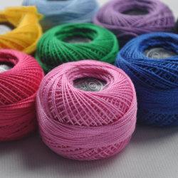 El algodón de alta calidad de la moda ropa de poliéster de ganchillo hilo
